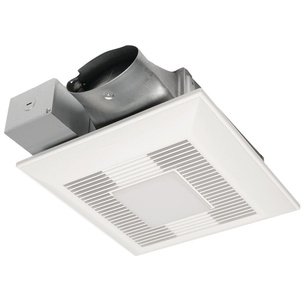 Best ideas about Panasonic Bathroom Fan . Save or Pin Panasonic WhisperValue DC Exhaust Fan LED Light and Night Now.