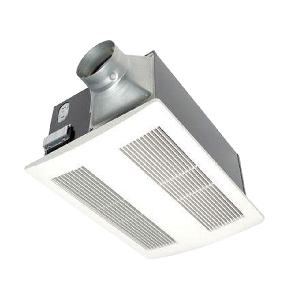 Best ideas about Panasonic Bathroom Fan . Save or Pin Panasonic WhisperWarm 110 CFM Ceiling Exhaust Bath Fan Now.
