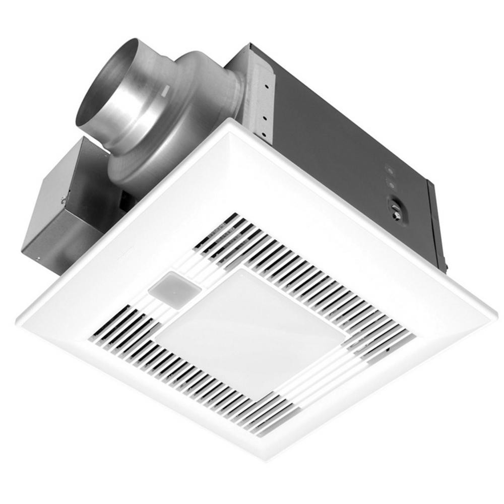 Best ideas about Panasonic Bathroom Fan . Save or Pin Panasonic Deluxe 80 CFM Humidity and Motion Sensor Ceiling Now.