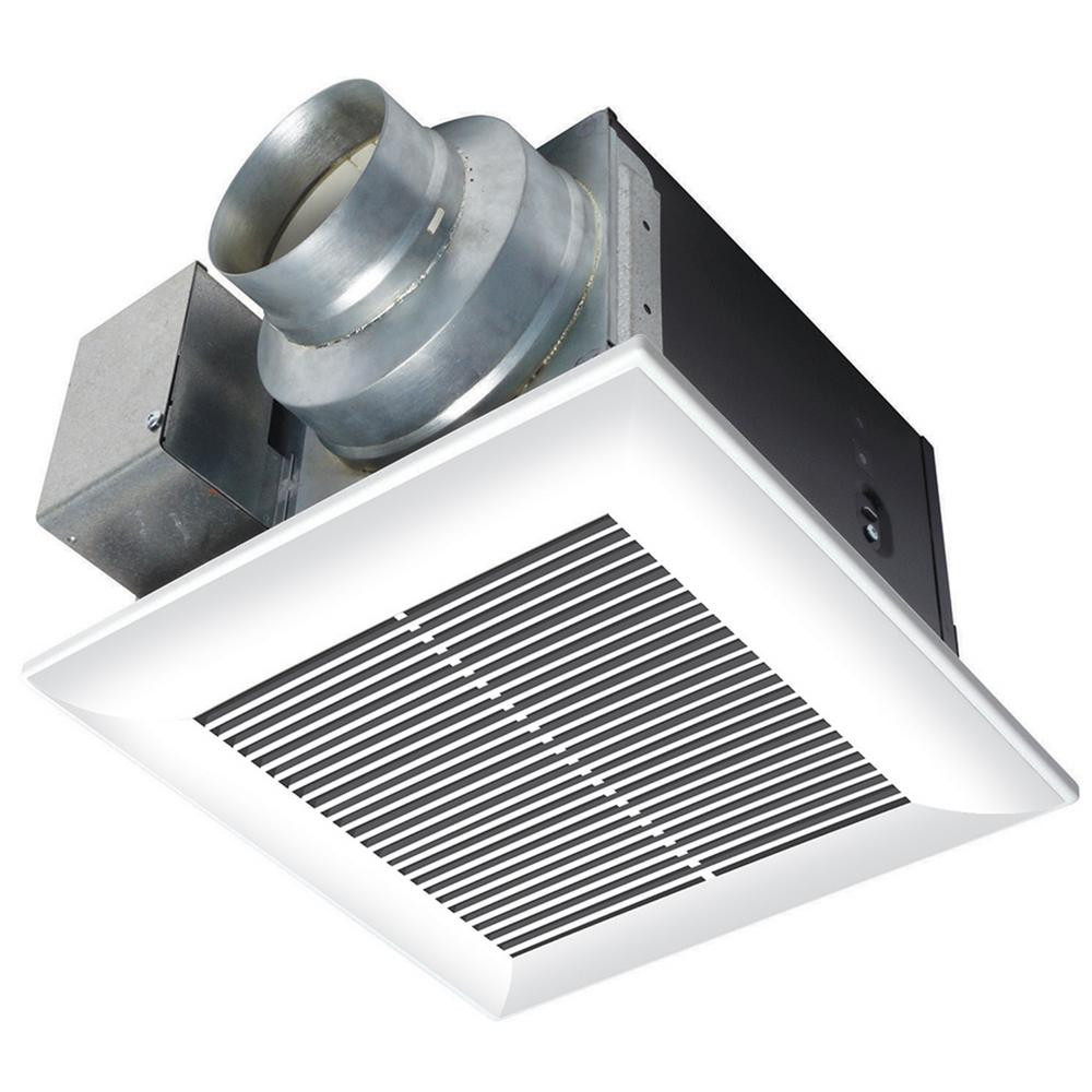 Best ideas about Panasonic Bathroom Fan . Save or Pin Panasonic WhisperCeiling 80 CFM Ceiling Exhaust Bath Fan Now.