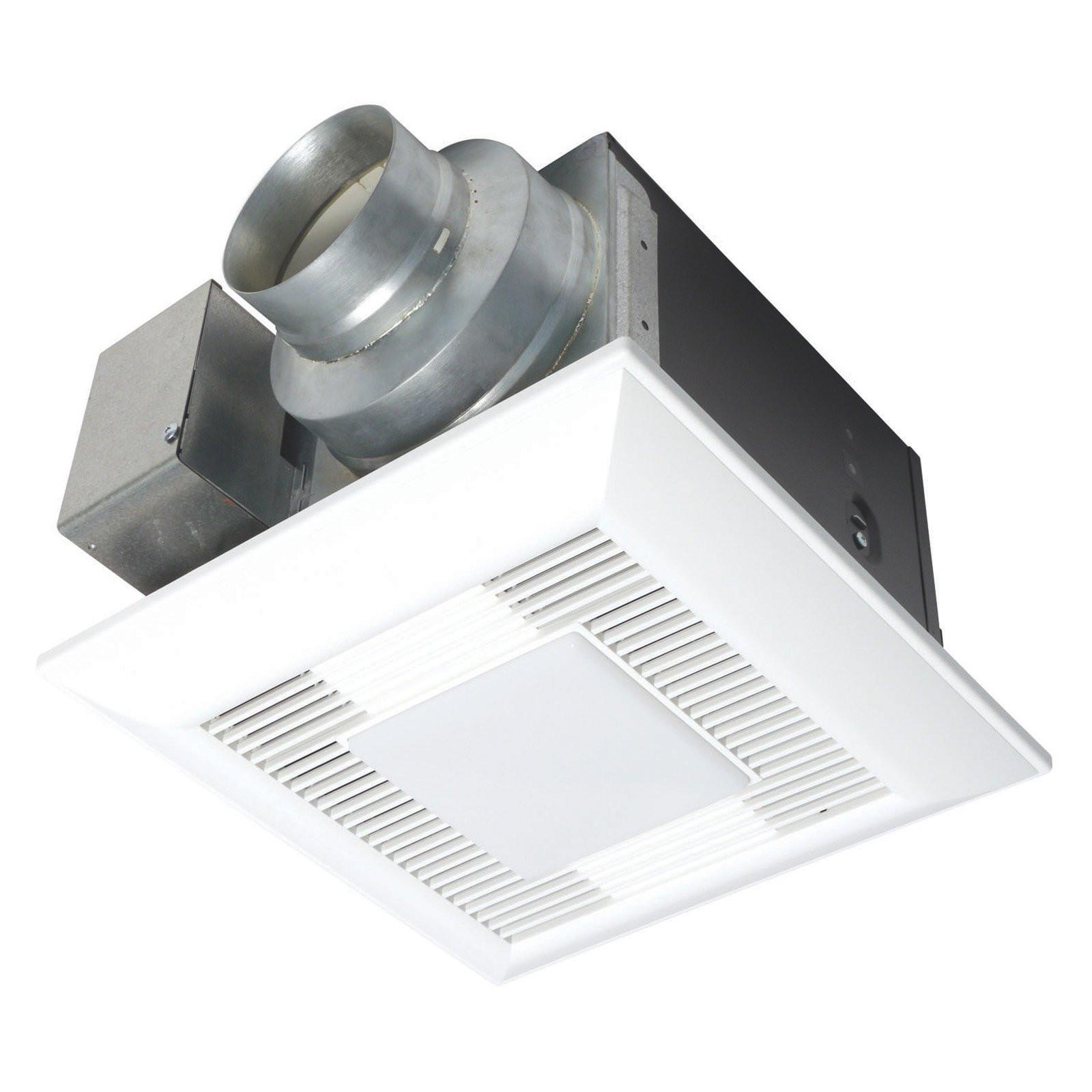 Best ideas about Panasonic Bathroom Fan . Save or Pin Panasonic WhisperLite FV 08VQL5 Ceiling Mount Bathroom Fan Now.