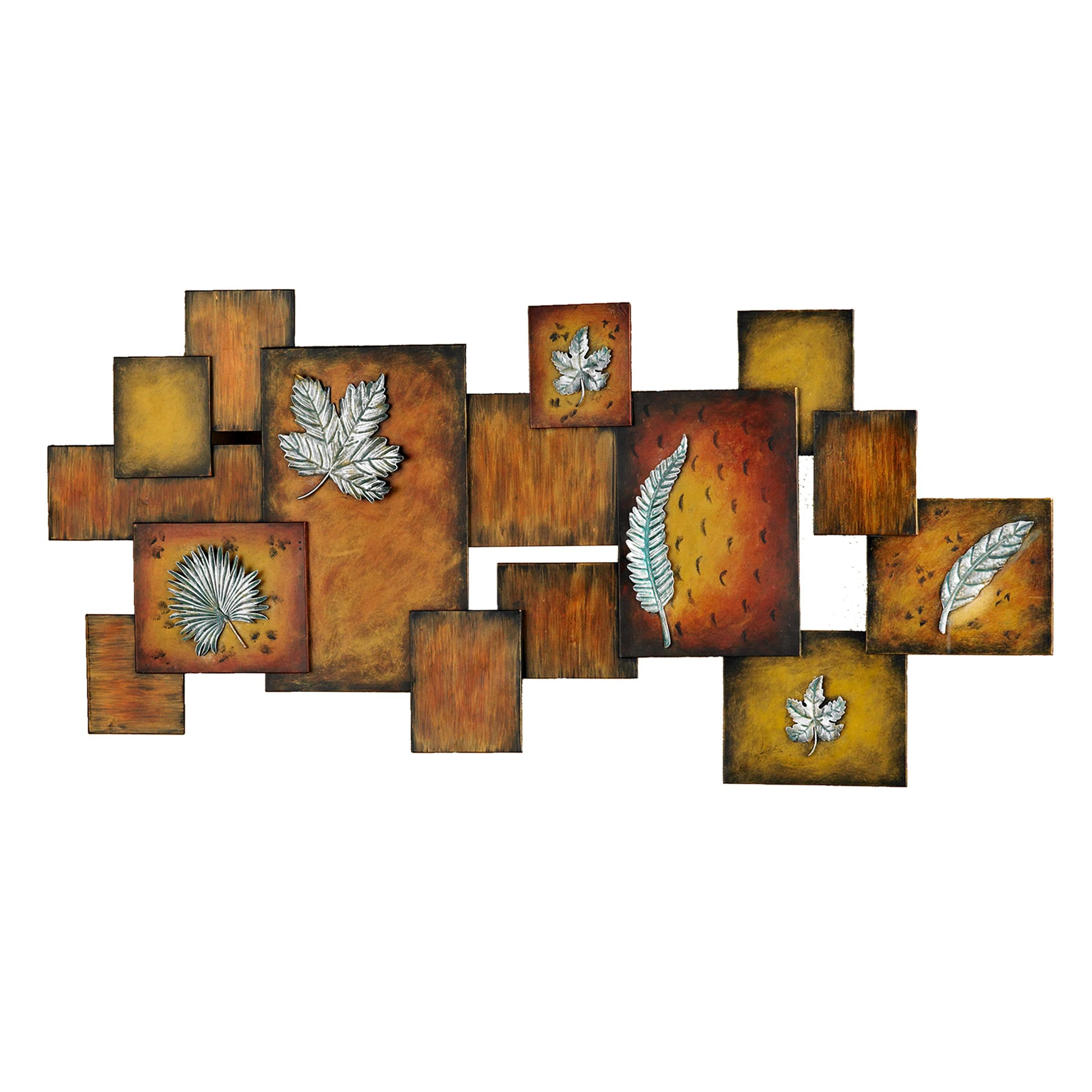 Best ideas about Panel Wall Art . Save or Pin Amazon Southern Enterprises Faux Fossil Leaves Now.