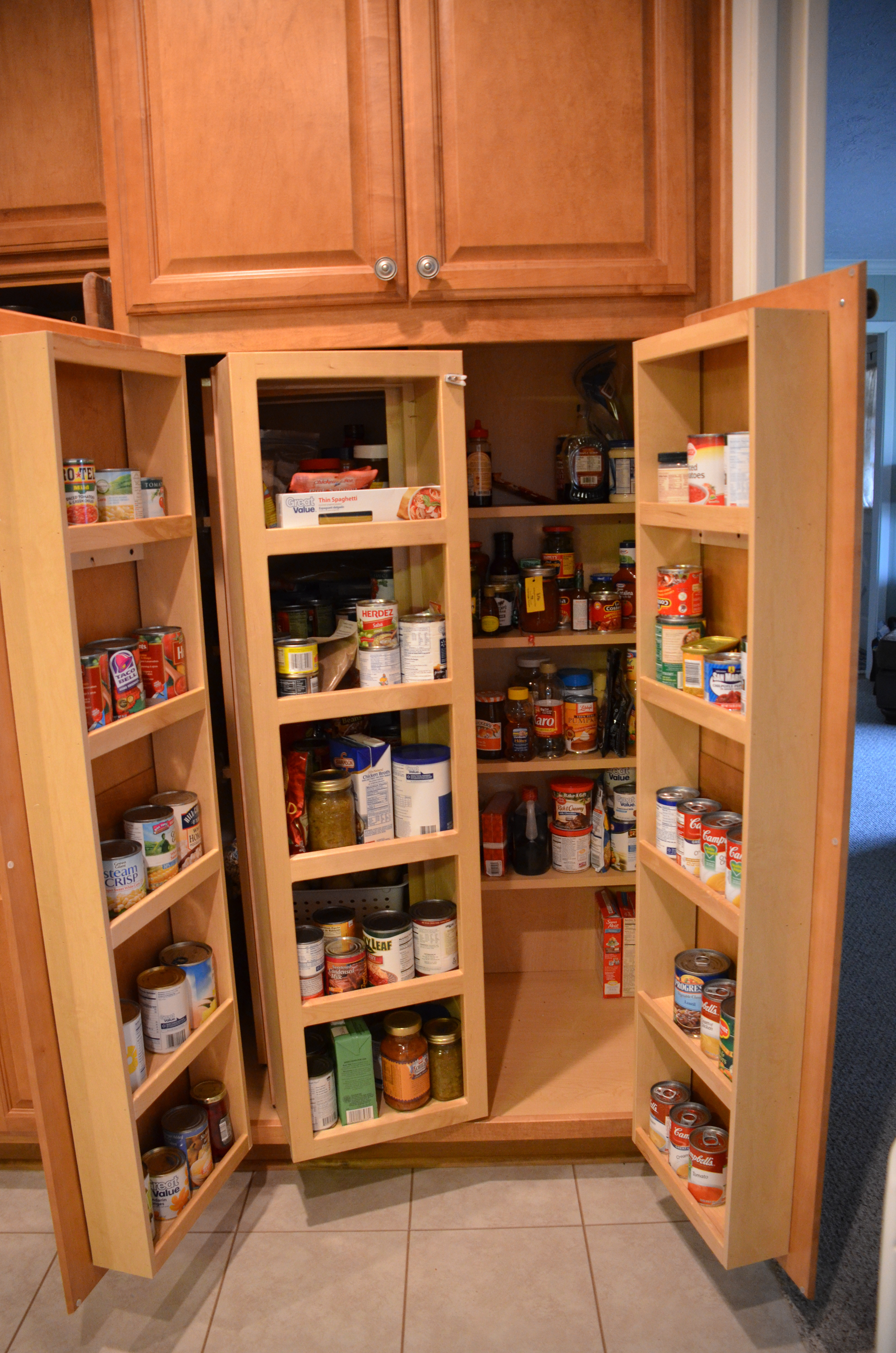 Best ideas about Pantry Cabinet Home Depot . Save or Pin Pantry Cabinet Wood Pantry Cabinet with Tall Corner Now.