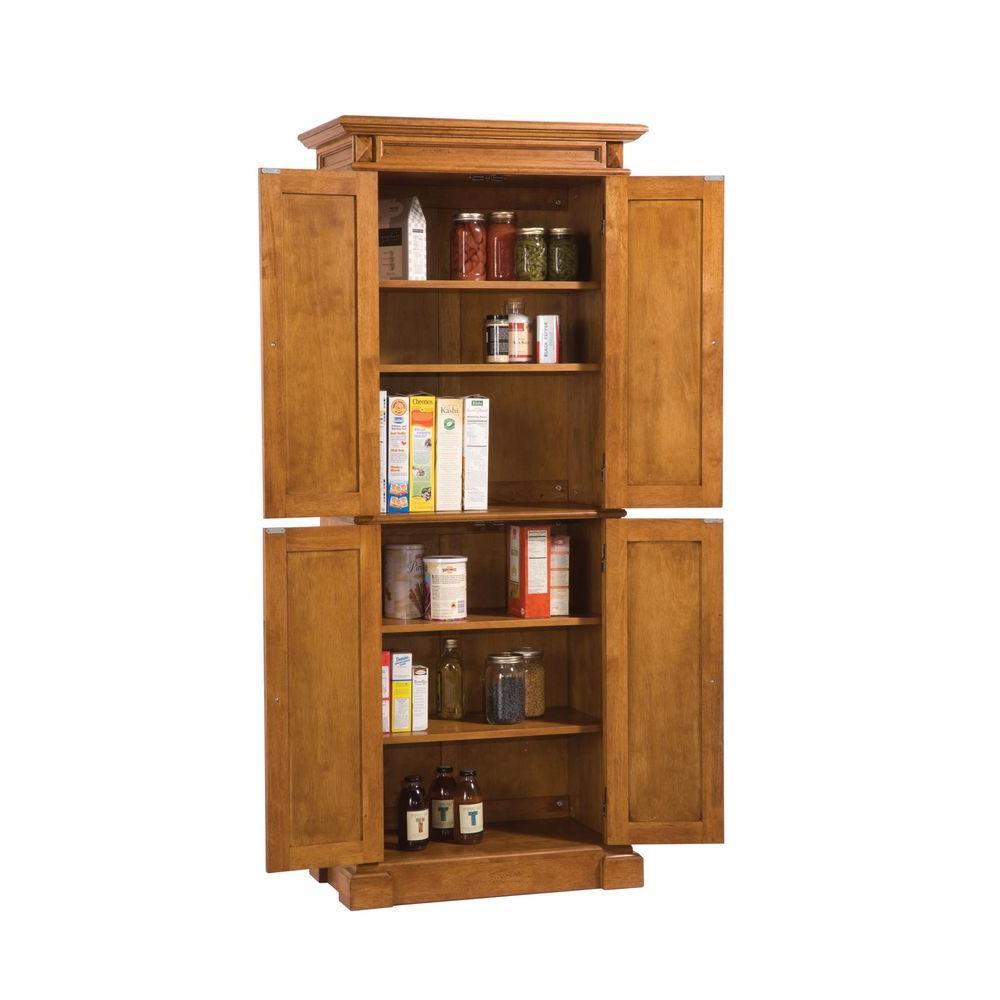 Best ideas about Pantry Cabinet Home Depot . Save or Pin Home Styles Distressed Oak Pantry 5004 69 The Home Depot Now.