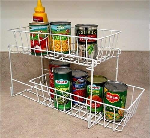 Best ideas about Pantry Can Organizer . Save or Pin Sliding Drawer Organizer Pantry Storage Cans Kitchen Now.