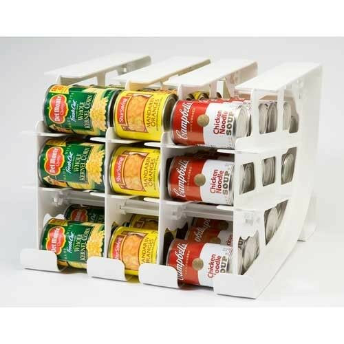 Best ideas about Pantry Can Organizer . Save or Pin FIFO Can Tracker Food Storage Organizer Pantry Rotation Now.