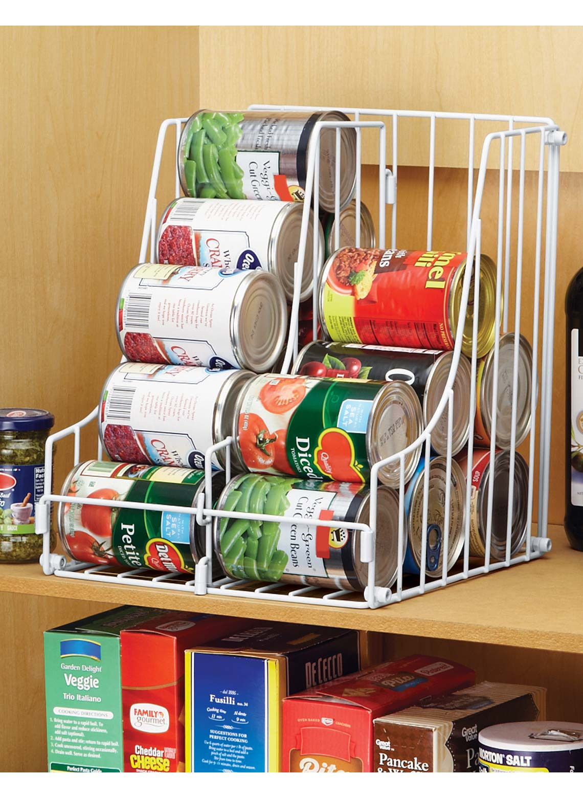 Best ideas about Pantry Can Organizer . Save or Pin Double Pantry Can Organizer Now.