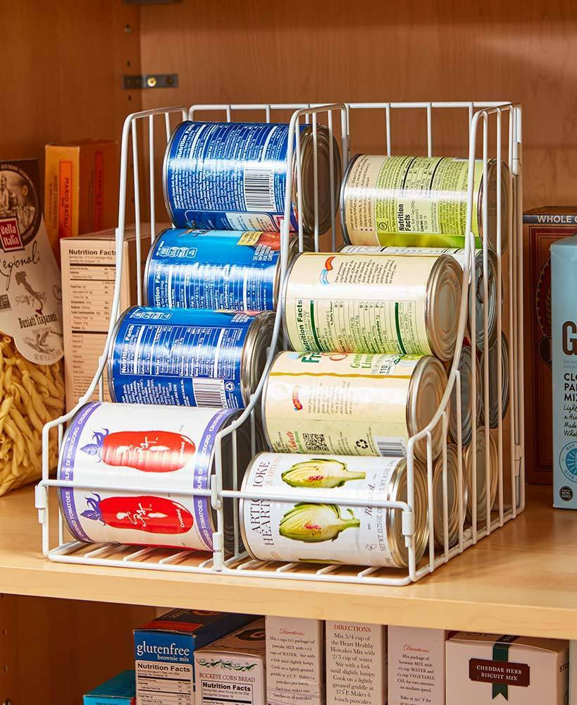 Best ideas about Pantry Can Organizer . Save or Pin The Lakeside Collection Double Pantry Can Organizer Now.