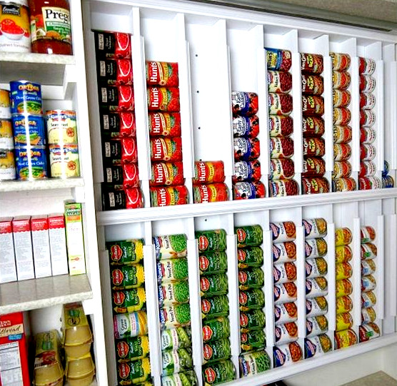 Best ideas about Pantry Can Organizer . Save or Pin 16 Pantry Organization Ideas That Your Kitchen Will Love Now.