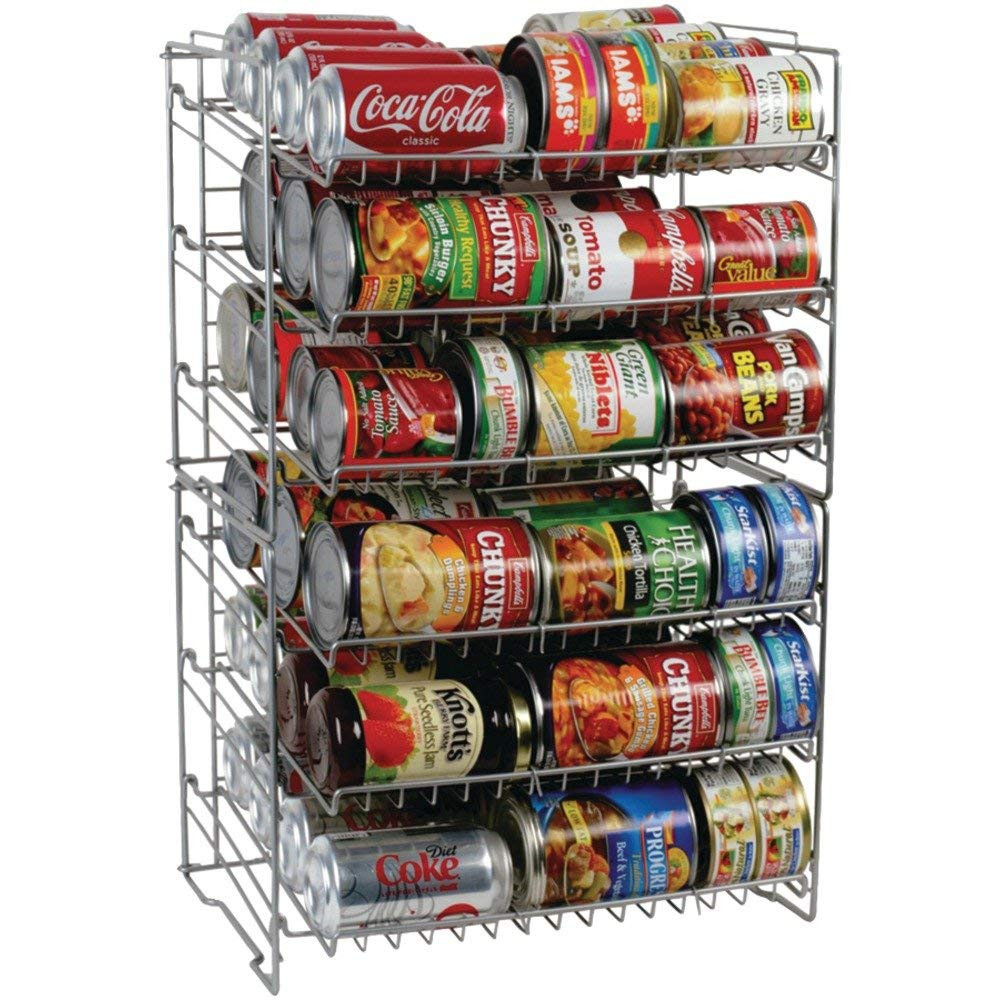 Best ideas about Pantry Can Organizer . Save or Pin Canned Food Storage Rack Organizer Space Saving Cans Shelf Now.