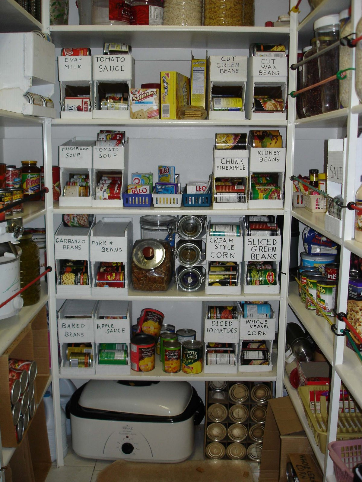 Best ideas about Pantry Can Organizer . Save or Pin Free line Stuff Video Stuff DIY Can Organizer Now.