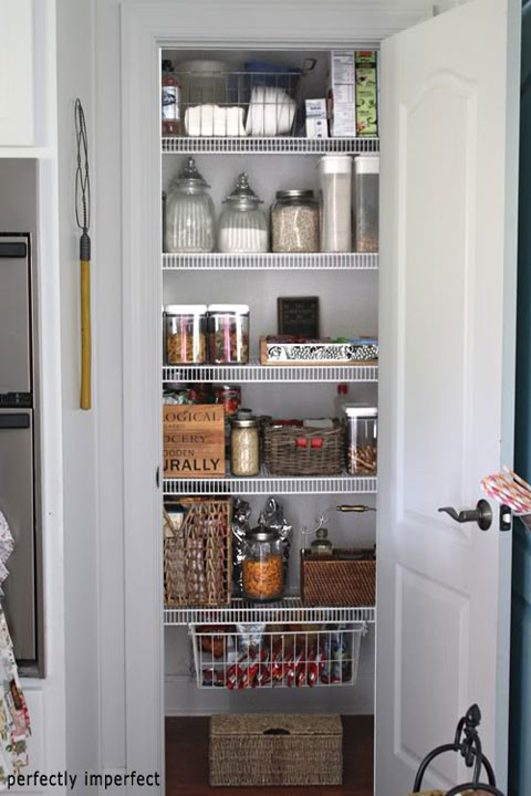 Best ideas about Pantry Closet Ideas . Save or Pin IHeart Organizing Blogger Spaces Organized Pantry Round Up Now.