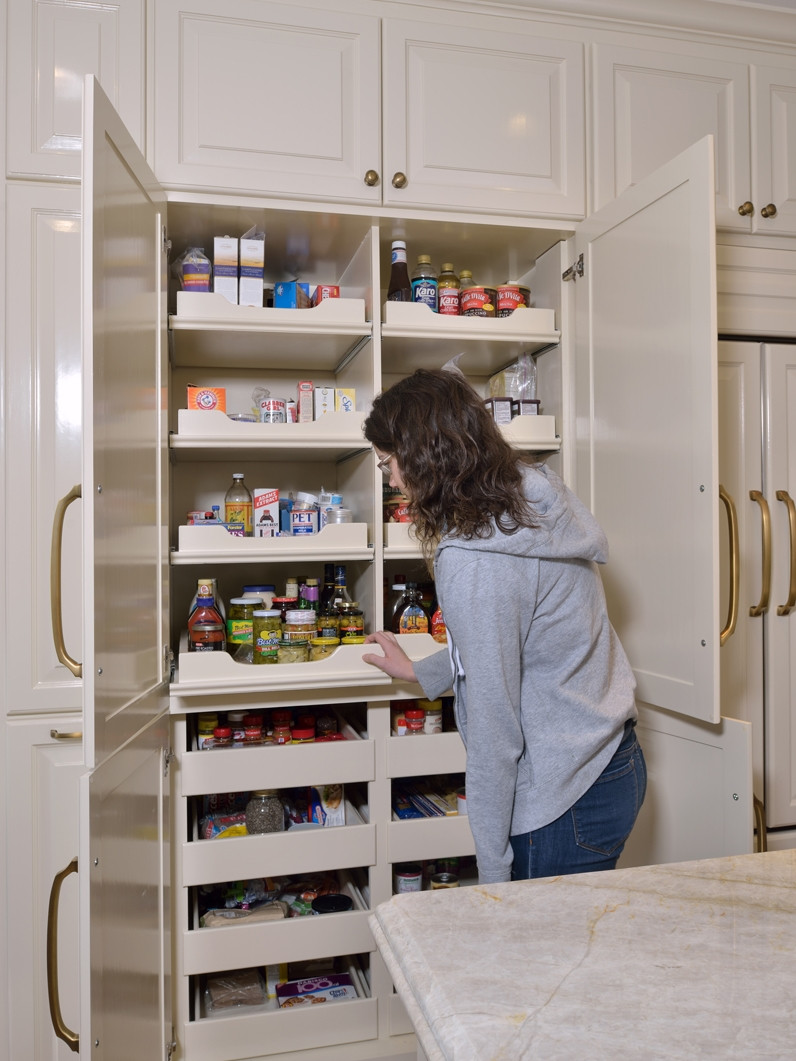 Best ideas about Pantry Closet Ideas . Save or Pin The Best Kitchen Space Creator Isn t A Walk In Pantry It Now.