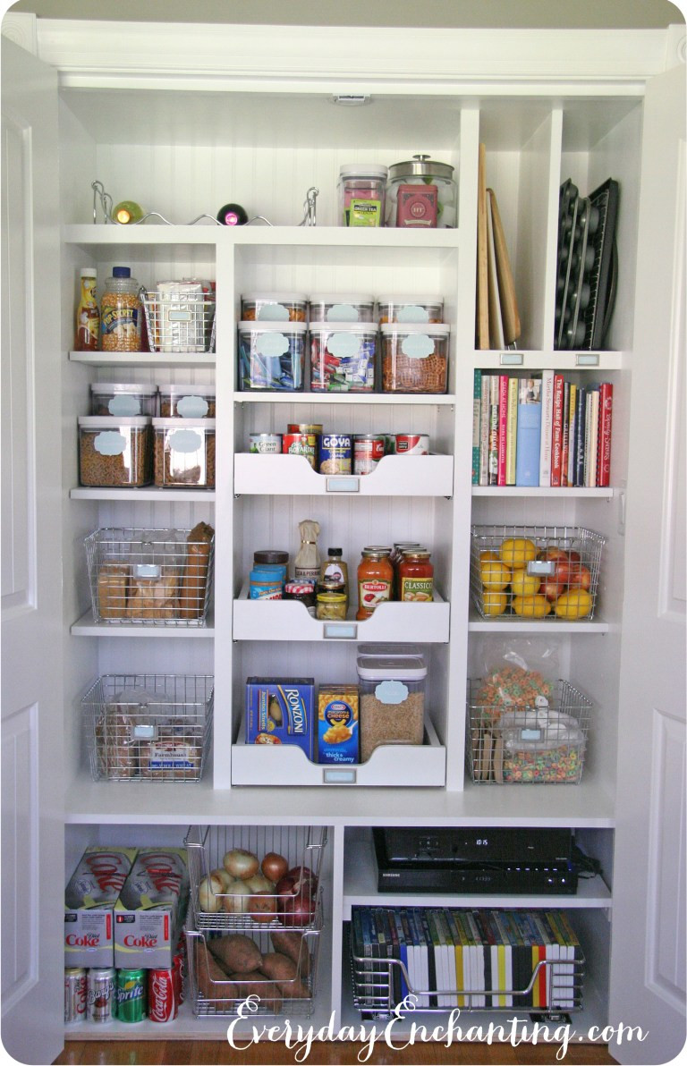 Best ideas about Pantry Closet Ideas . Save or Pin 20 Incredible Small Pantry Organization Ideas and Now.