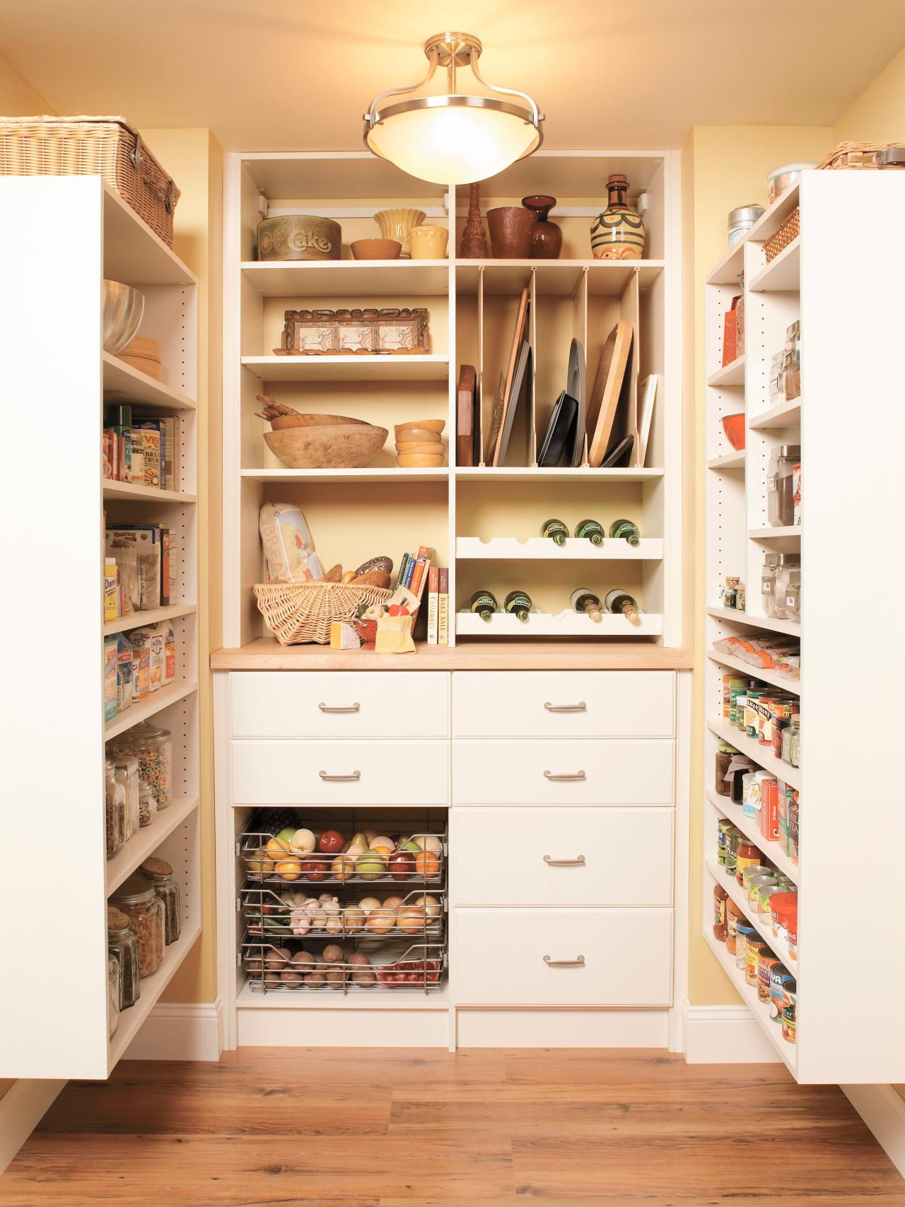 Best ideas about Pantry Closet Ideas . Save or Pin 51 of Kitchen Pantry Designs & Ideas Now.