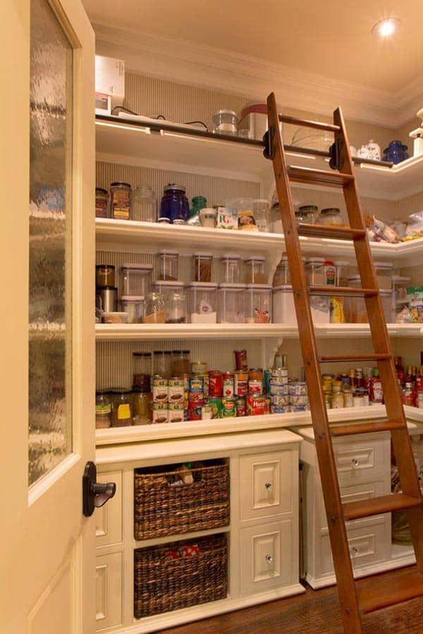 Best ideas about Pantry Design Ideas . Save or Pin 53 Mind blowing kitchen pantry design ideas Now.