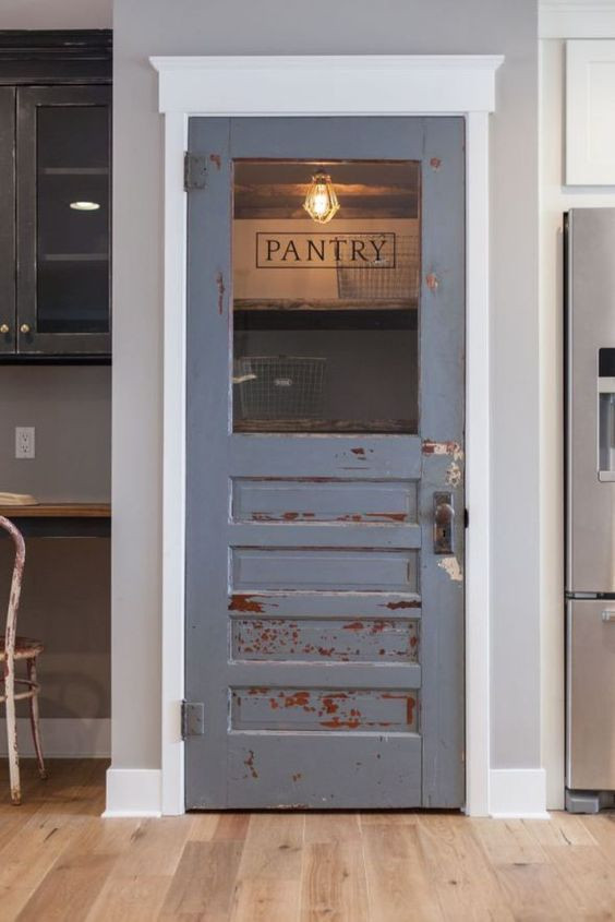 Best ideas about Pantry Door Ideas . Save or Pin The Most Beautiful Pantries & Butler s Pantries Full of Now.