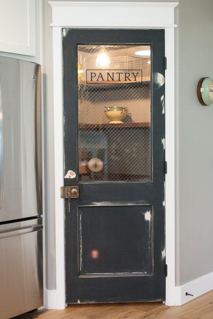 Best ideas about Pantry Door Ideas . Save or Pin Vintage door repurposed as pantry door by Rafterhouse Now.