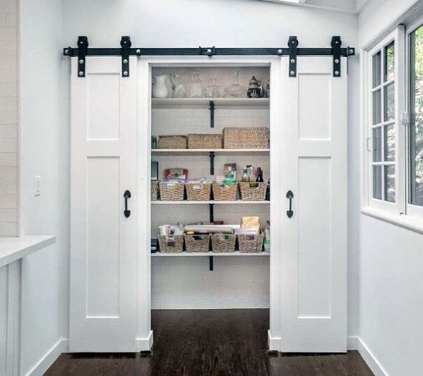 Best ideas about Pantry Door Ideas . Save or Pin Top 40 Best Kitchen Pantry Door Ideas Storage Closet Designs Now.