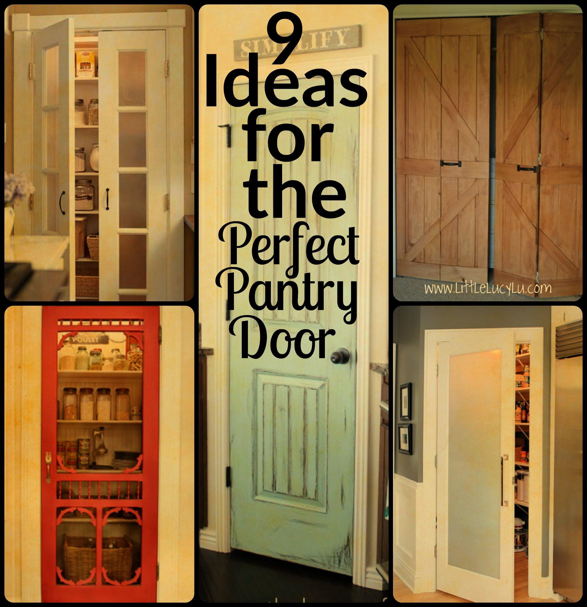 Best ideas about Pantry Door Ideas . Save or Pin 9 Ideas for the Perfect Pantry Door Now.