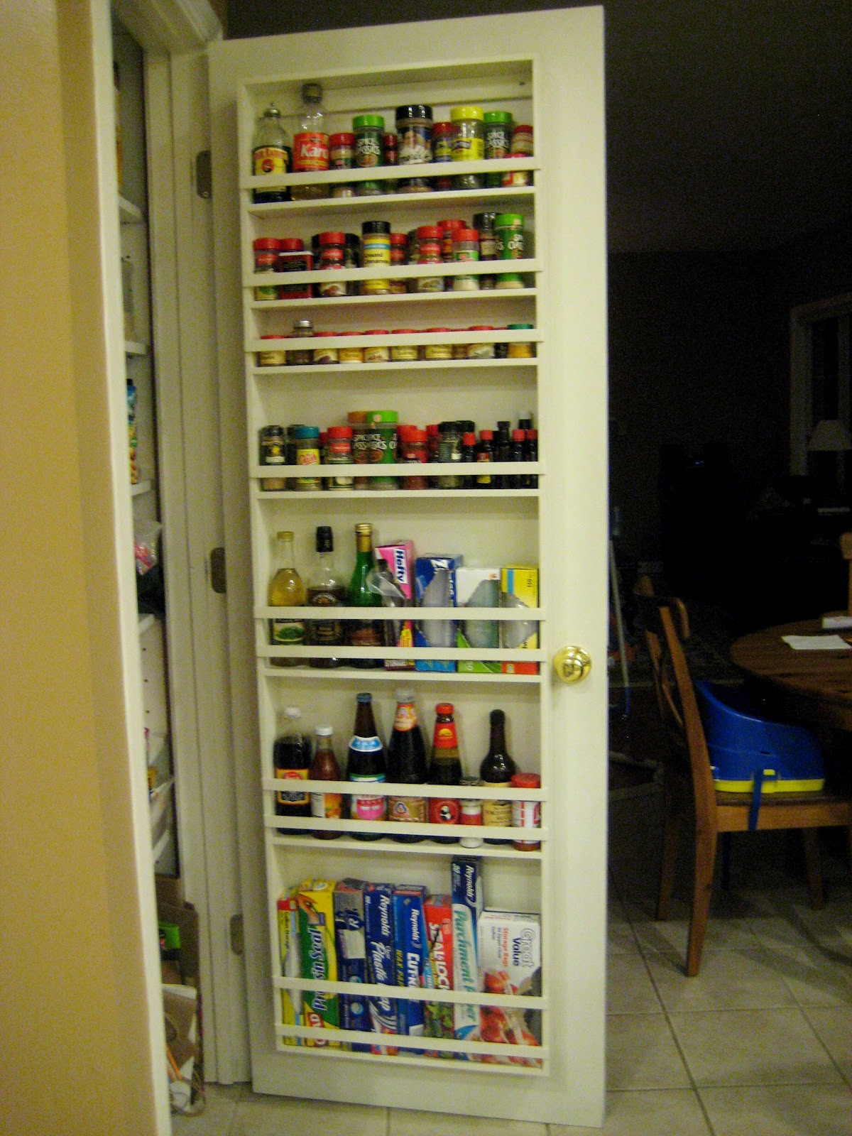 Best ideas about Pantry Door Spice Rack . Save or Pin Sweet Virginia Spice Rack Now.