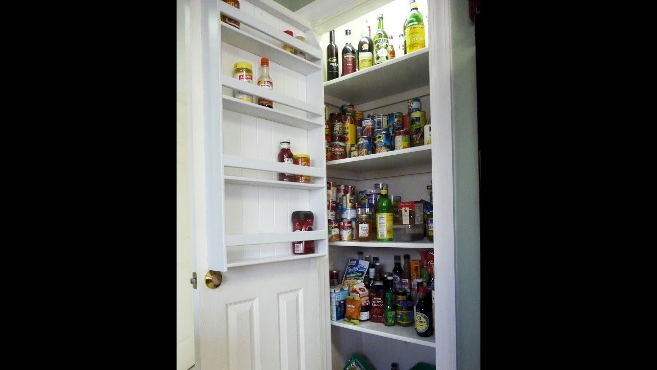 Best ideas about Pantry Door Spice Rack . Save or Pin How to Make a Pantry Door Spice Rack Now.