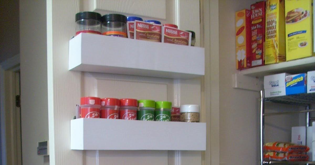 Best ideas about Pantry Door Spice Rack . Save or Pin RobbyGurl s Creations DIY Pantry Door Spice Racks Now.