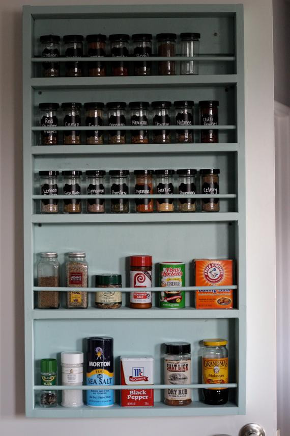 Best ideas about Pantry Door Spice Rack . Save or Pin Pantry Door Spice Rack by Waynestruction on Etsy Now.