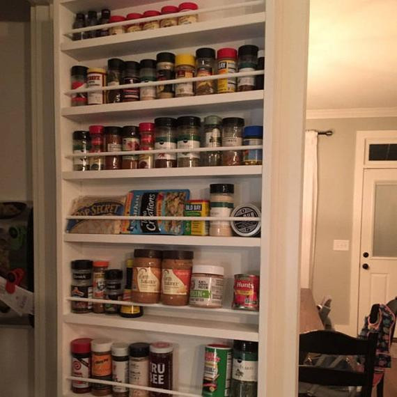 Best ideas about Pantry Door Spice Rack . Save or Pin Pantry door spice rack door spice rack door mounted spice Now.
