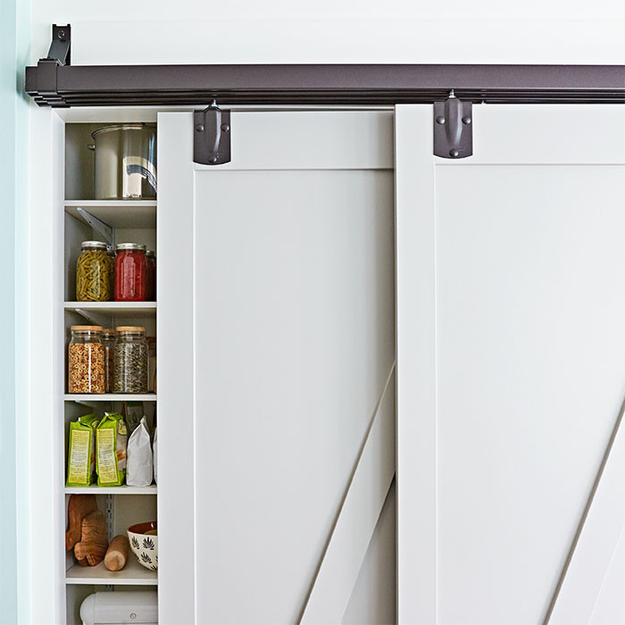 Best ideas about Pantry Doors Lowes . Save or Pin Kitchen Pantry Organization Ideas Now.