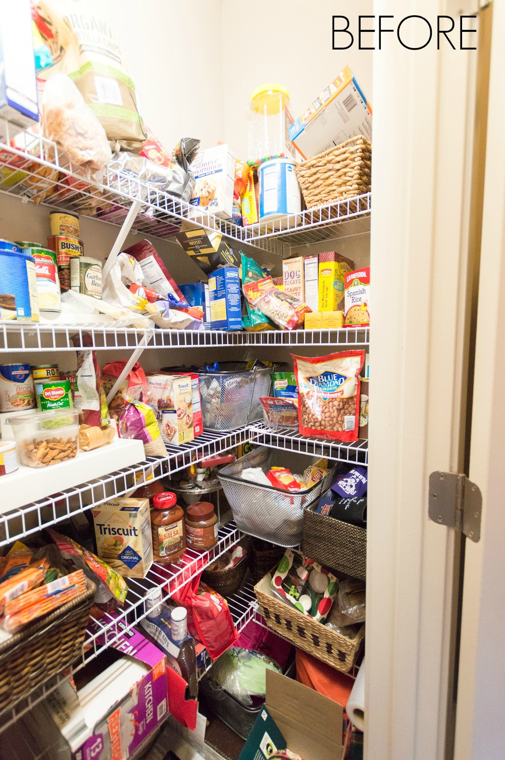 Best ideas about Pantry In Spanish . Save or Pin Nine Ideas to Organize a Small Pantry with Wire Shelving Now.