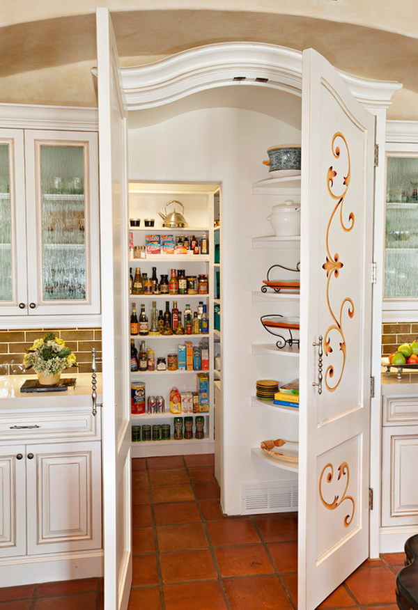 Best ideas about Pantry In Spanish . Save or Pin Functional And Creative Kitchen Pantry Ideas Noted List Now.