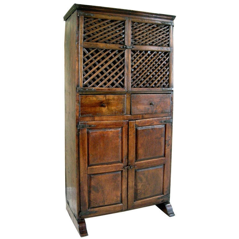 Best ideas about Pantry In Spanish . Save or Pin 18th C Spanish Pantry Cabinet GMD 2622 at 1stdibs Now.