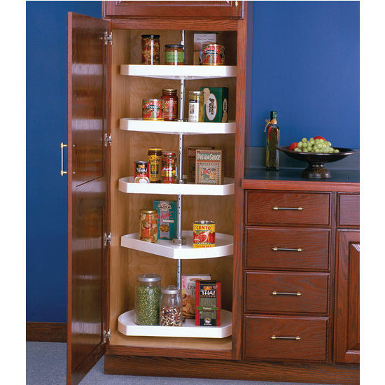 Best ideas about Pantry Lazy Susan . Save or Pin Polymer D Shaped Lazy Susan For Tall Pantry Cabinets by Now.