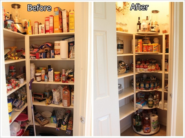 Best ideas about Pantry Lazy Susan . Save or Pin DIY Lazy Susan Pantry Now.