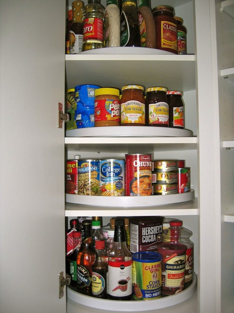 Best ideas about Pantry Lazy Susan . Save or Pin How to make a lazy susan pantry storage Now.