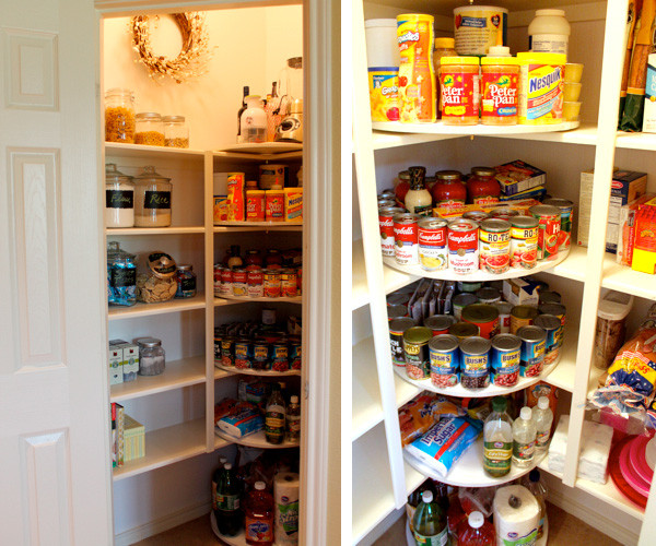 Best ideas about Pantry Lazy Susan . Save or Pin A Pantry Rescued by Lazy Susans HAR Now.
