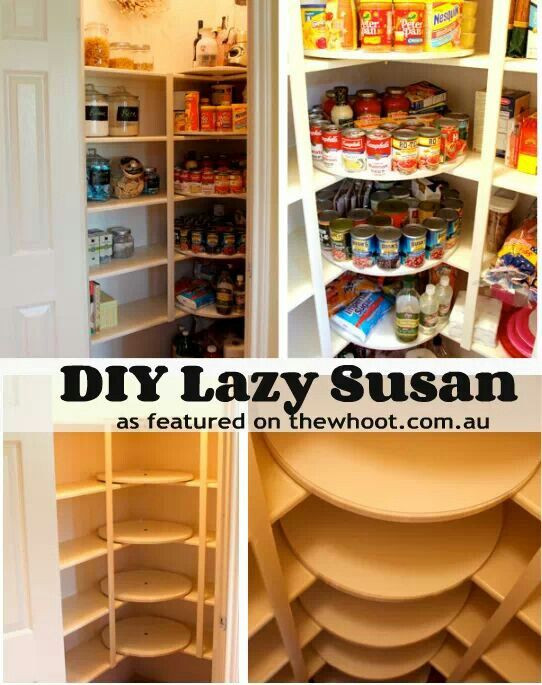 Best ideas about Pantry Lazy Susan . Save or Pin Build Corner Cabinet Lazy Susan WoodWorking Projects & Plans Now.