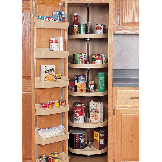 """Best ideas about Pantry Lazy Susan . Save or Pin Rev A Shelf Traditional"""" Kitchen Pantry Cabinet Lazy Now."""
