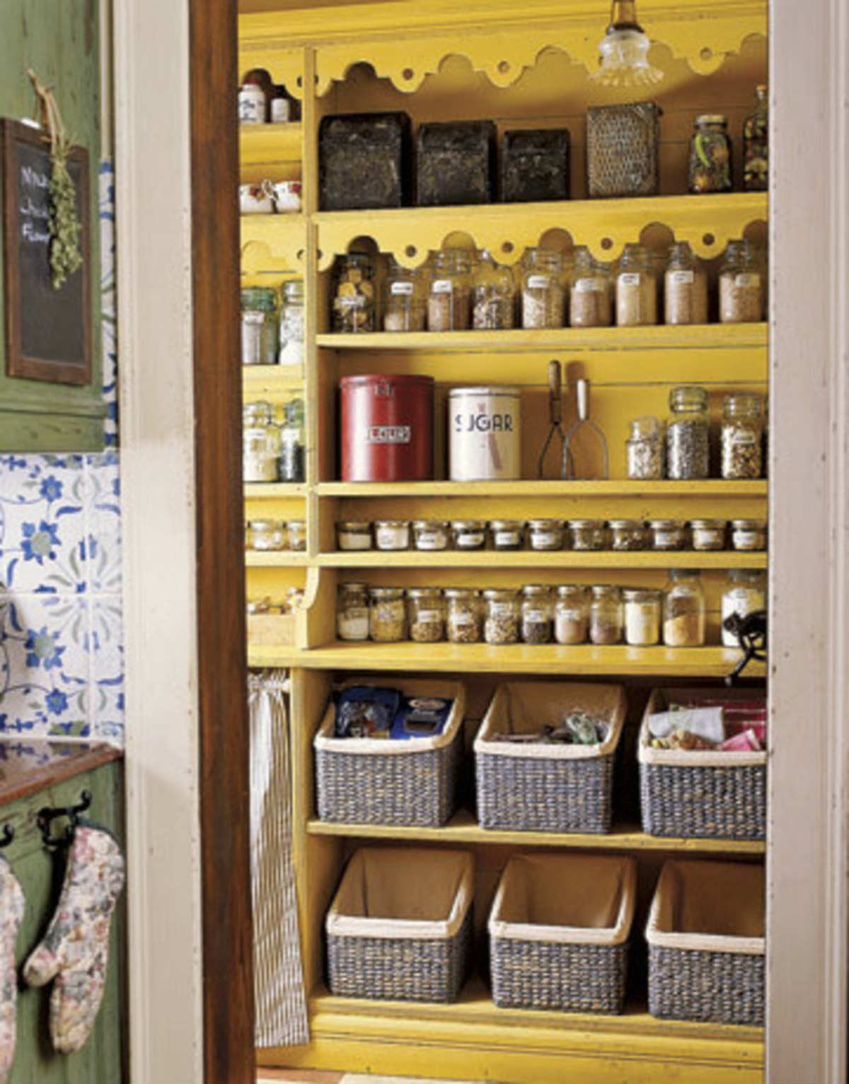 Best ideas about Pantry Organization Ideas . Save or Pin 10 Inspiring Pantry Designs Tinyme Blog Now.