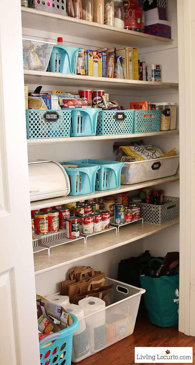 Best ideas about Pantry Organization Ideas . Save or Pin Kitchen Pantry Organization Ideas Now.