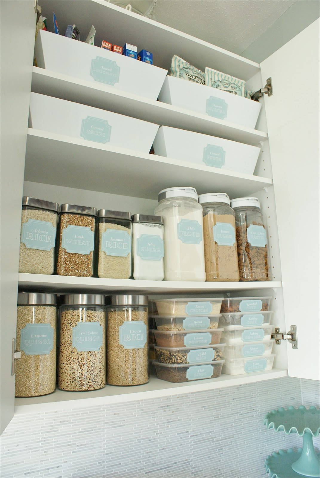 Best ideas about Pantry Organization Ideas . Save or Pin Home Kitchen Pantry Organization Ideas Mirabelle Now.