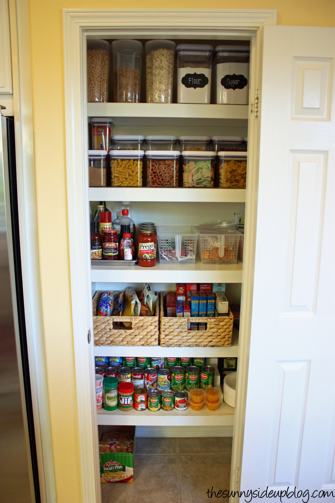 Best ideas about Pantry Organization Ideas . Save or Pin Pantry Organization the next level The Sunny Side Up Blog Now.