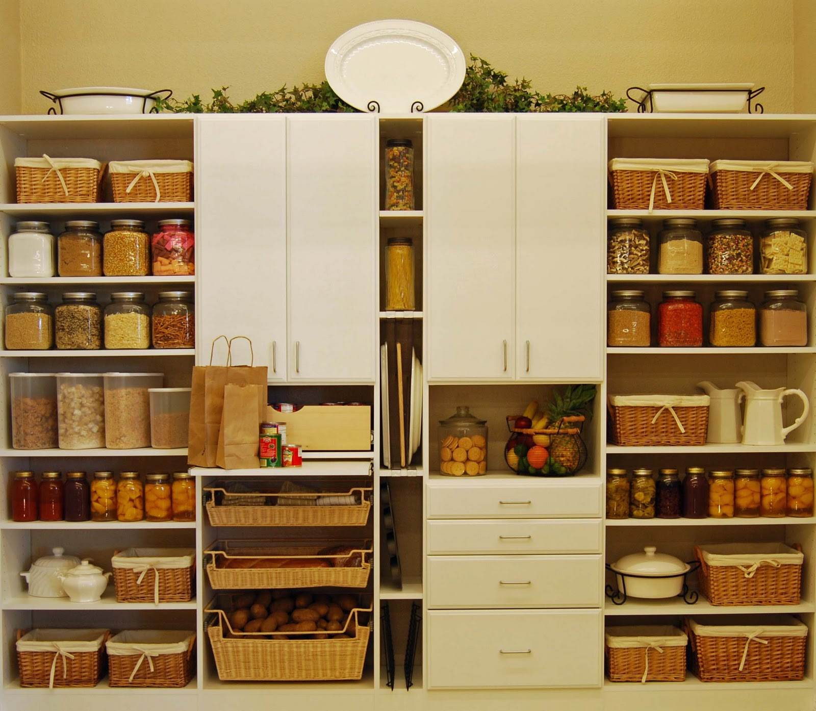 Best ideas about Pantry Shelf Spacing . Save or Pin 15 Kitchen Pantry Ideas With Form And Function Now.