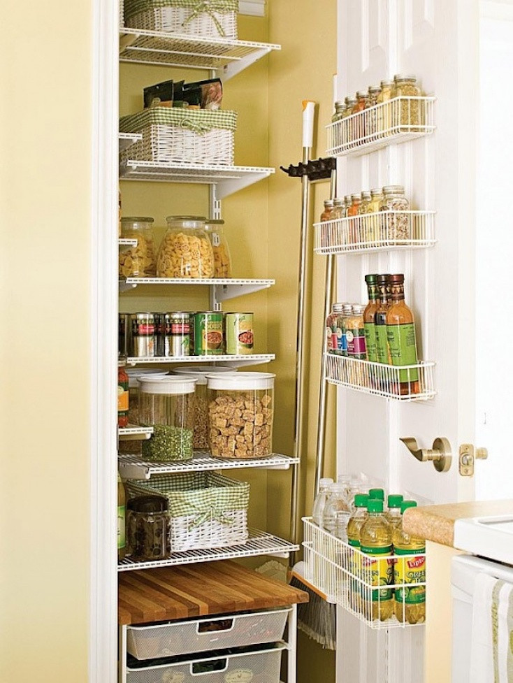 Best ideas about Pantry Shelf Spacing . Save or Pin Creative Pantry Organizing Ideas and Solutions Now.