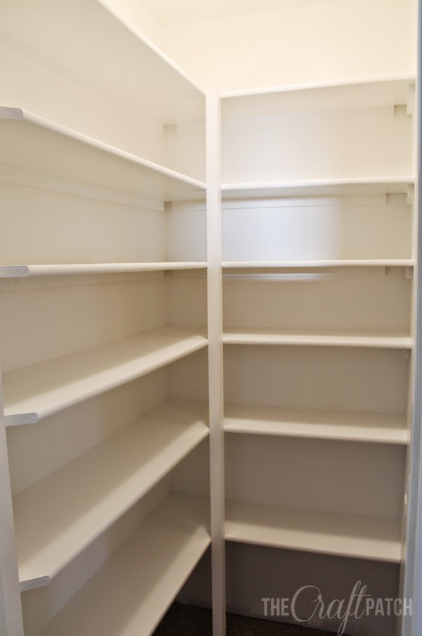 Best ideas about Pantry Shelf Spacing . Save or Pin The Craft Patch How to Build Pantry Shelving Now.