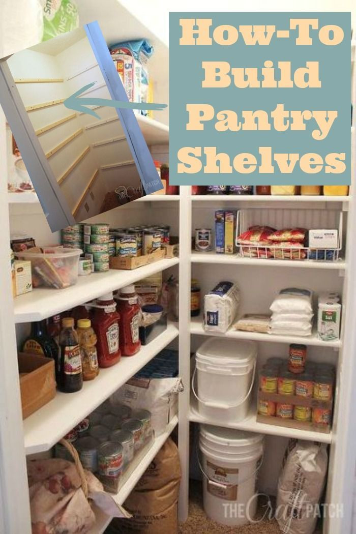 Best ideas about Pantry Shelf Spacing . Save or Pin 25 best ideas about Pantry shelving on Pinterest Now.