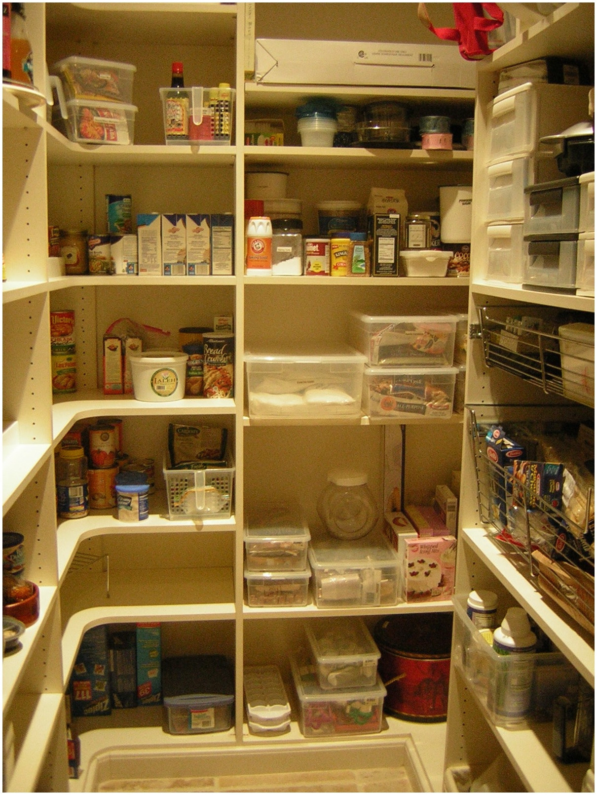 Best ideas about Pantry Shelf Spacing . Save or Pin 50 Pantry Storage Shelf Pantry Design Ideas For Staying Now.