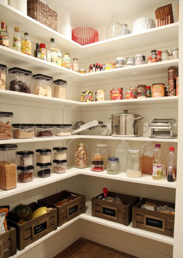 Best ideas about Pantry Shelf Spacing . Save or Pin The Finished Pantry Now.