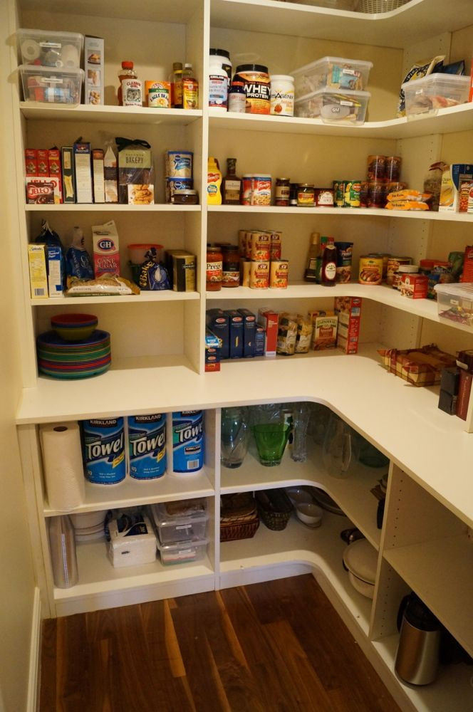 Best ideas about Pantry Shelving Ideas . Save or Pin 25 best ideas about Pantry shelving on Pinterest Now.